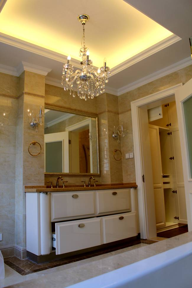 别墅 小资 欧式 简约 卫生间图片来自东易力天装饰在联盟新城  别墅的分享