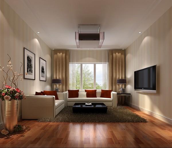 起居室,现代风格简单明了,业主是白领精英,平时工作压力较大,通过设计师的设计,在颜色搭配上,还有视觉效果上使业主回到家以后有很放松的感觉,后期的效果更为显著。