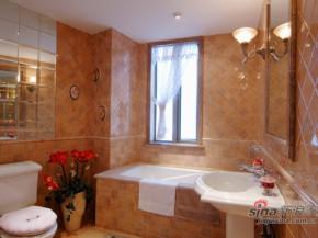 简约 欧式 田园 80后 白富美 温馨 舒适 卫生间图片来自用户5156624388在120平温馨可爱欧式田园三居的分享