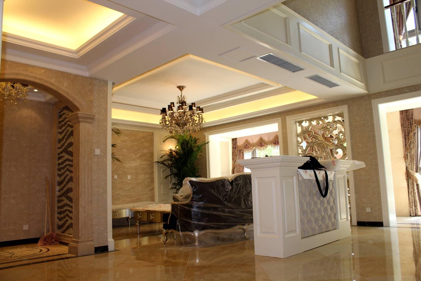 别墅 小资 欧式 简约 客厅图片来自东易力天装饰在联盟新城  别墅的分享
