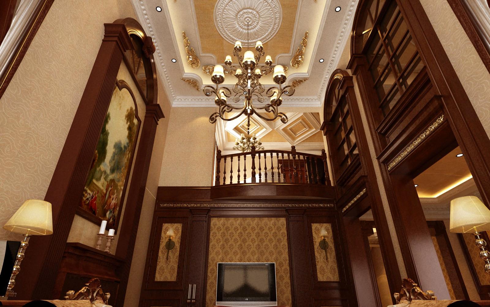 别墅 欧式 小资 客厅图片来自东易力天装饰在思念果岭的分享