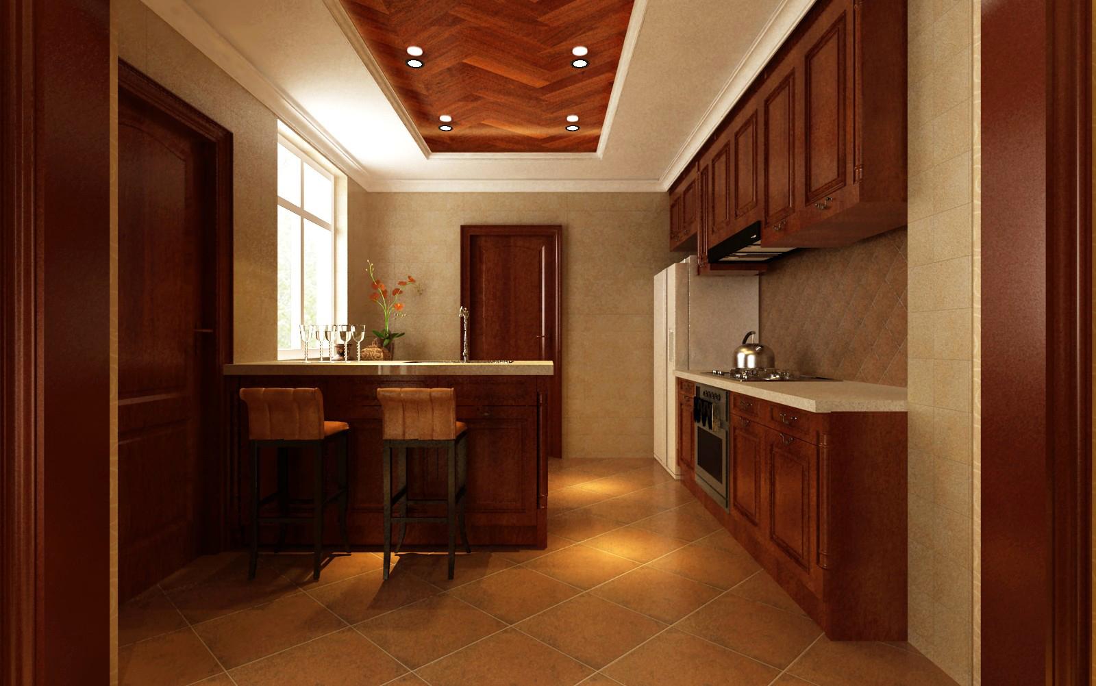 别墅 欧式 小资 厨房图片来自东易力天装饰在思念果岭的分享