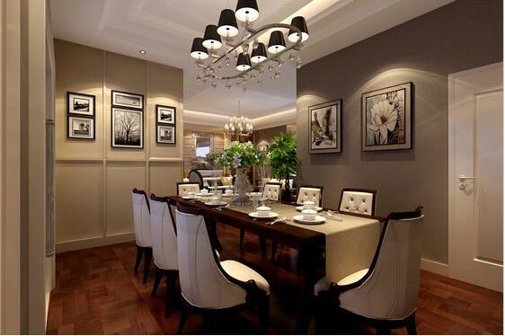 餐厅作为一个用餐的场所,所以在运用简单的线条,配上温暖的颜色,让整个餐厅简单而温馨。