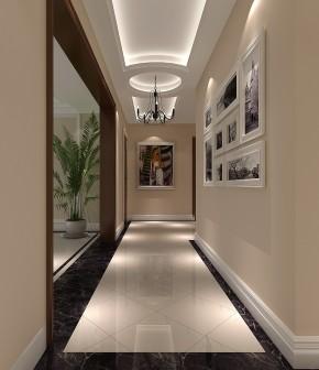 四居 中式 格局 温馨 玄关图片来自高度国际装饰韩冰在润泽公馆四室新中式的分享