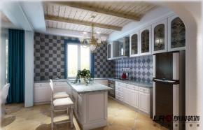 87平 二居 白领 80后 舒适 小清新 地中海 温暖 厨房图片来自朗润装饰工程有限公司在87平白领小清新温暖舒适地中海风的分享