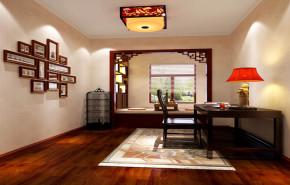 中式 新中式 温馨 舒适 实用 简单大方 书房图片来自高度国际装饰刘玉在温馨舒适的新中式的分享