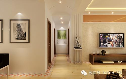 现代风格 玄关图片来自多啦A梦的百宝袋在保利达江湾城140平的分享
