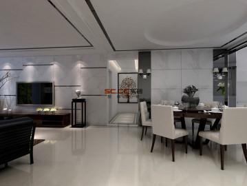 坤和和家园140方现代装修设计图