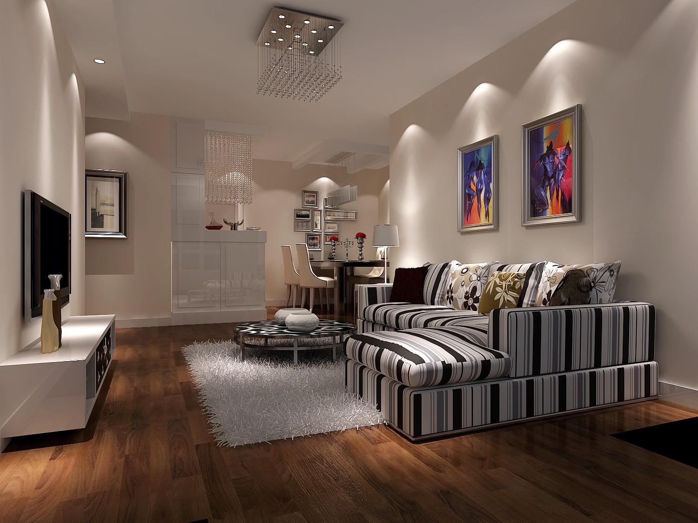 现代风格 客厅图片来自高度国际王慧芳在珠江帝景的分享