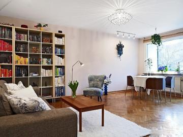 白色精致的小公寓
