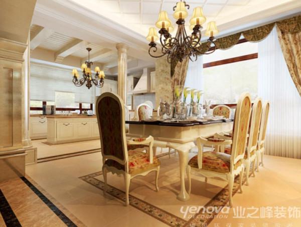 餐厅 360平别墅奢华效果图