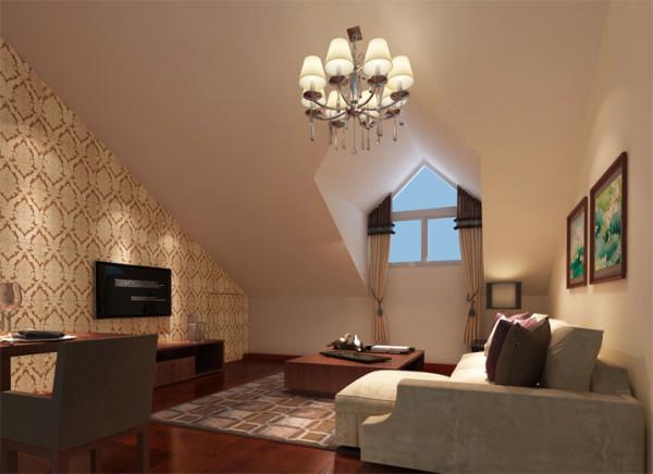 打造敞开式的厨房,厨房的窗户打进来的光线融入到客厅里,使客厅更为明亮。隐藏式储物间,增加了储物空间的同时,让客厅整齐划一