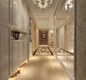 新古典 高度国际 三居 公寓 白领 80后 小资 婚房 小清新 玄关图片来自北京高度国际装饰设计在天润福熙大道新古典公寓的分享