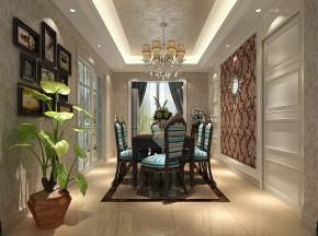 新古典 高度国际 三居 公寓 白领 80后 小资 婚房 小清新 餐厅图片来自北京高度国际装饰设计在天润福熙大道新古典公寓的分享