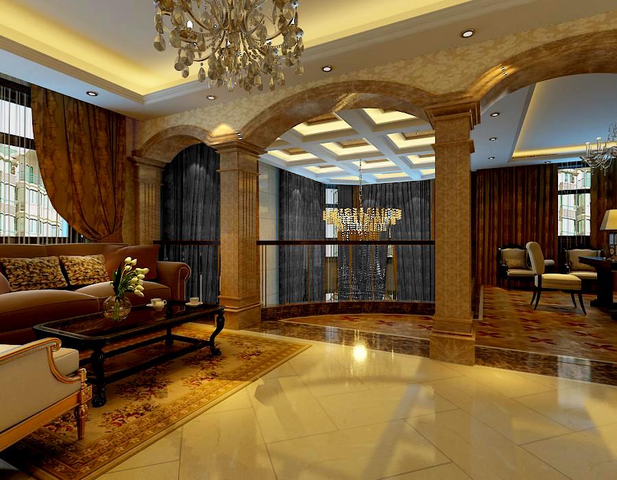 客厅图片来自石家庄龙发装饰孙莎莎在江南新城的分享