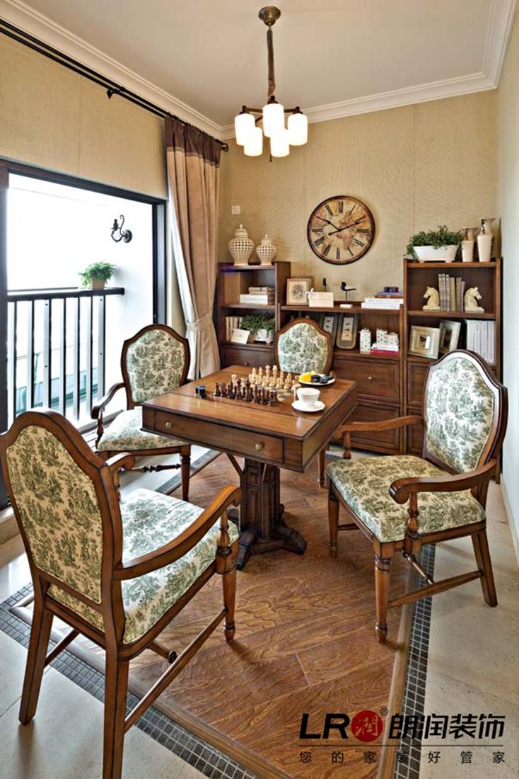 现代 中式 三居 温馨 舒适 其他图片来自朗润装饰工程有限公司在107平温馨舒适现代中式三居的分享