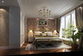 新古典 高度国际 三居 公寓 白领 80后 小资 婚房 小清新 卧室图片来自北京高度国际装饰设计在天润福熙大道新古典公寓的分享