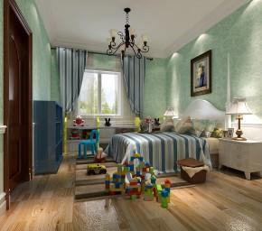 欧式 别墅 80后 美观 舒适 温馨 情调 儿童房图片来自北京高度装饰设计王鹏程在万万树欧式风格的分享