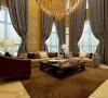 江南新城客厅装修设计案例展示