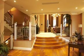 欧式 别墅 现代 武汉别墅 舒适 楼梯图片来自武汉实创装饰在现代与欧式的完美融合的分享