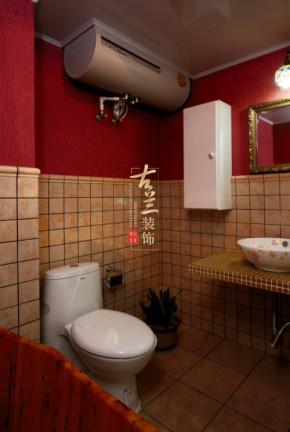 田园 清心 舒适 三居 案例图片 卫生间图片来自香港古兰装饰-成都在白色清心田园风的分享