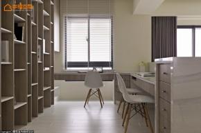 简约 现代 舒适 小清新 LOFT 收纳 书房图片来自幸福空间在140m²打造机能美开放空间的分享