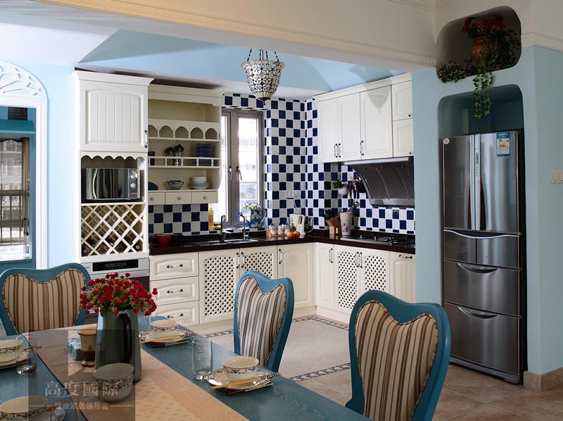 三居 地中海 轻松 舒适 生活空间 厨房图片来自高度国际装饰韩冰在9至11世纪又重新兴起的独特风格的分享