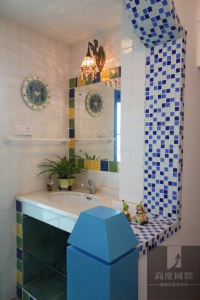 四居 地中海 温馨 装饰 设计 卫生间图片来自高度国际装饰韩冰在地中海打造温馨的分享