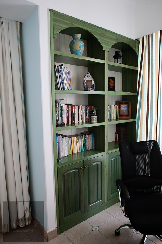 三居 地中海 轻松 舒适 生活空间 书房图片来自高度国际装饰韩冰在9至11世纪又重新兴起的独特风格的分享