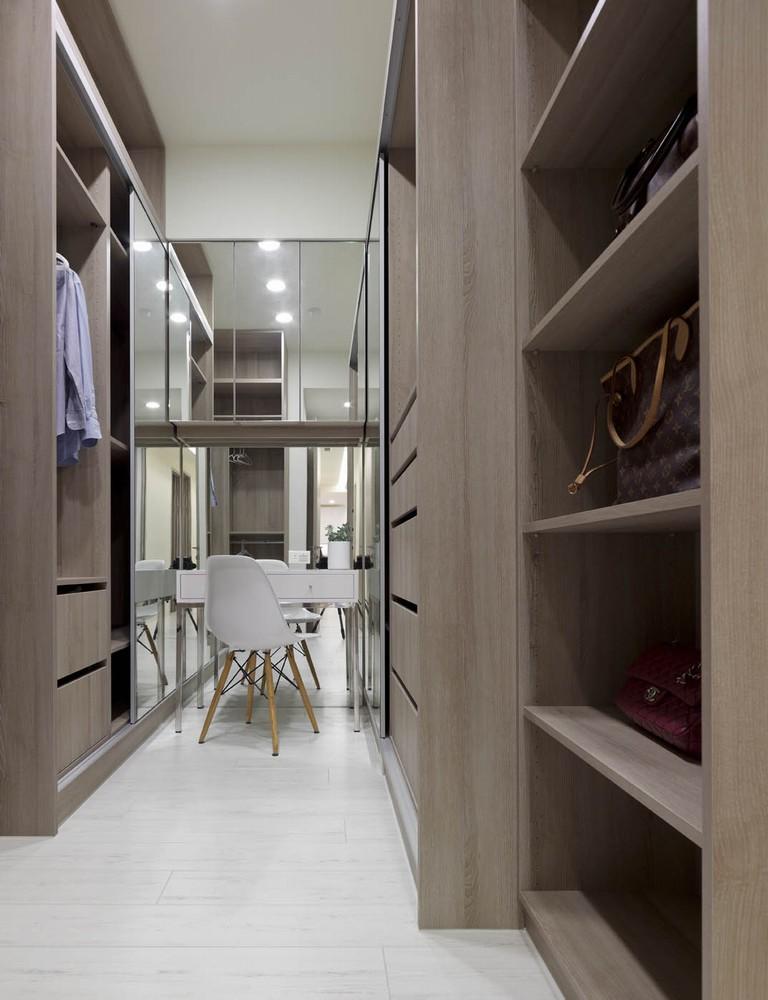 简约 现代 舒适 小清新 LOFT 收纳 衣帽间图片来自幸福空间在140m²打造机能美开放空间的分享