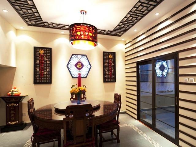 中式 大气 餐厅图片来自合建装饰李世超在典雅大气中式一居的分享