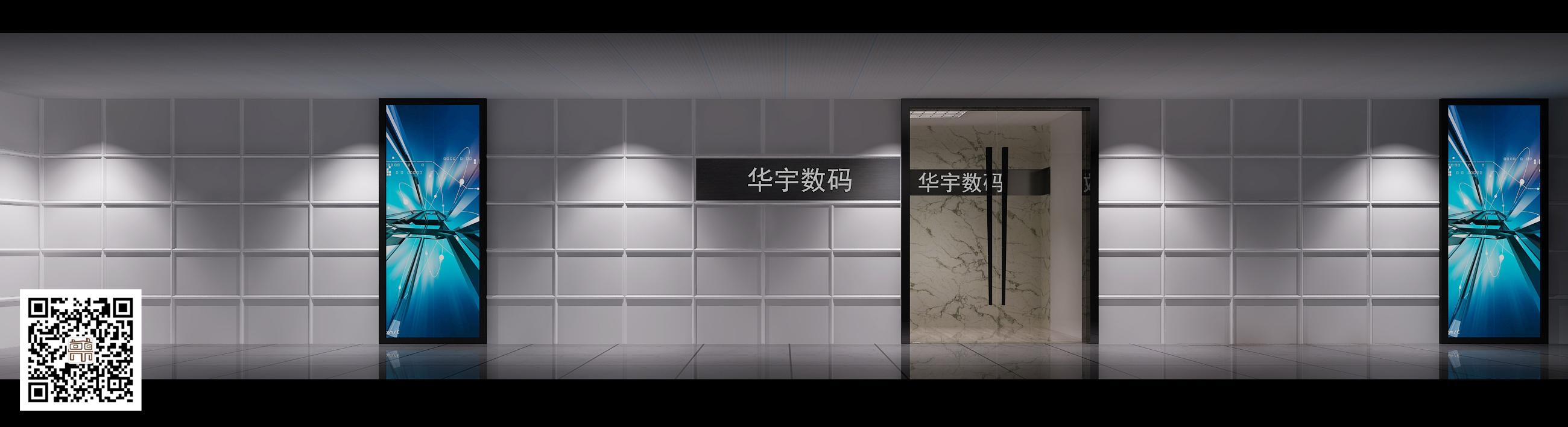 其他图片来自鼎宸设计总监李建在半岛大厦华宇数码效果图的分享