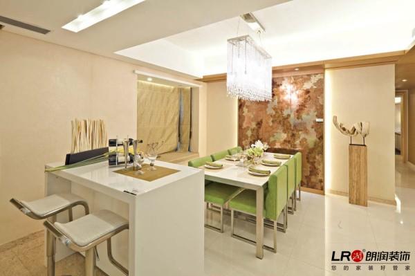 餐厅就是让人有食欲的地方,这样清爽是色彩搭配都是设计师满满的用心的成果噢!