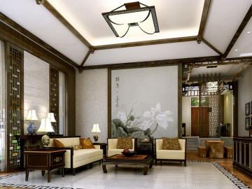 别墅户型里的中式雅韵