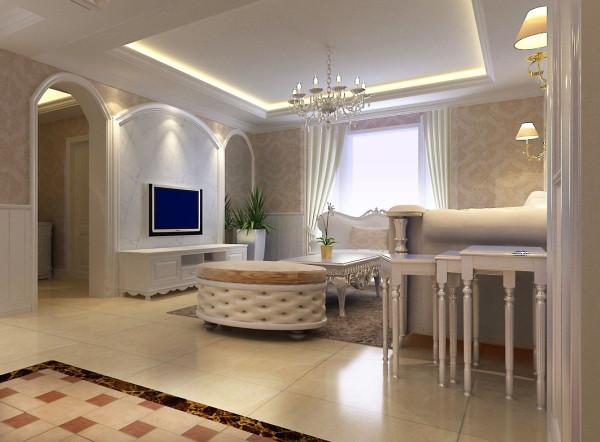 客厅设计干净 明朗 时尚