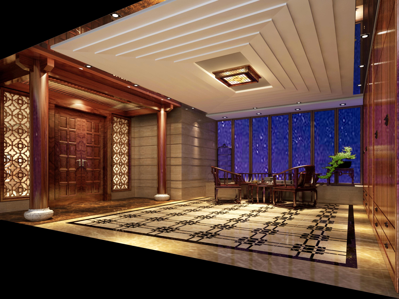 中式 4居 180平米 装修报价 家居风水 家庭装修 整体家装 室内设计 生活 其他图片来自徐丽娟在大气、简约、沉稳为主基调,的分享