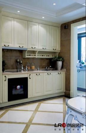 现代 80后 白富美 小资 两居 129平 温馨 清新 舒适 厨房图片来自朗润装饰工程有限公司在两居129平小资白富美清温馨现代的分享