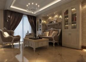 欧式 复式 客厅 书房 儿童房 其他图片来自唯美装饰喻胜军在浪漫古典欧式风的分享