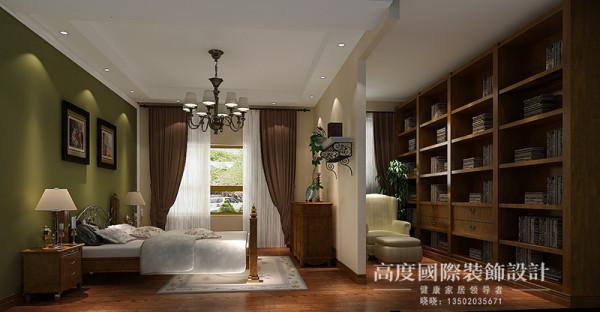 卧室是休息的地方,以舒适为主,精致的壁纸,与整面的衣柜,是空间更为整体,飘窗的合理利用,让卧室增加了休闲区,让主人在生活中使用起来更为放松,更为舒适!