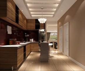 富力新城 简约 美式 高度国际 别墅 白领 80后 高富帅 白富美 厨房图片来自北京高度国际装饰设计在富力新城美式别墅的分享