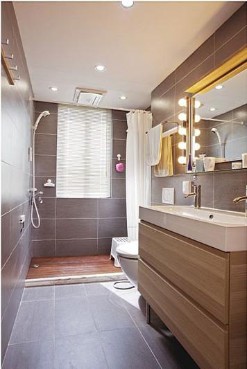欧式 简欧风格 和平盛世 三居 卫生间图片来自合肥川豪装饰装修在和平盛世109平米简欧风格的分享