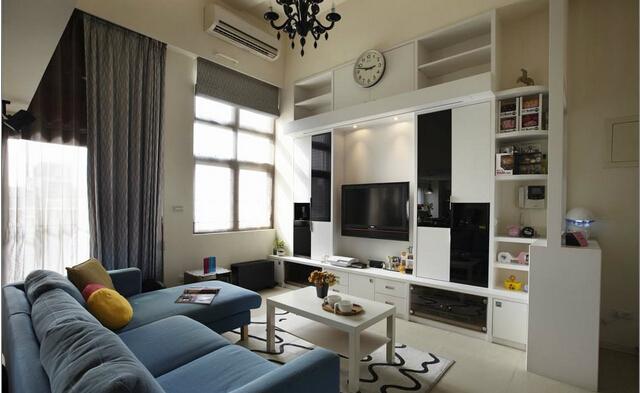 简约 欧式 田园 混搭 二居 别墅 卧室 厨房 餐厅图片来自上海倾雅装饰有限公司在92平方米日式小筑客厅的分享