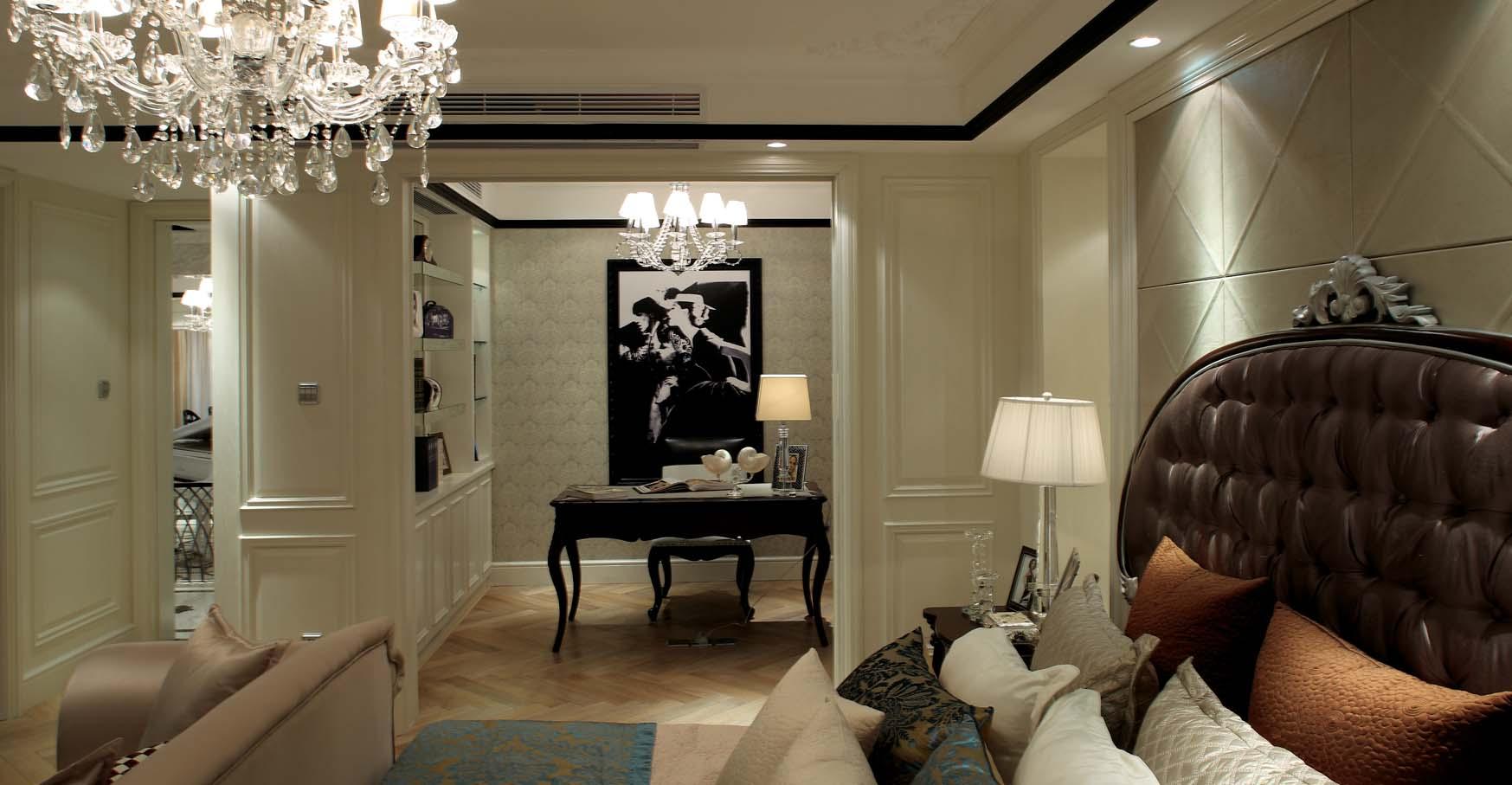 远大林语城 新古典 成都龙发 龙发装饰 装修效果 卧室图片来自龙发装饰设计达人在远大林语城新古典风格效果图的分享