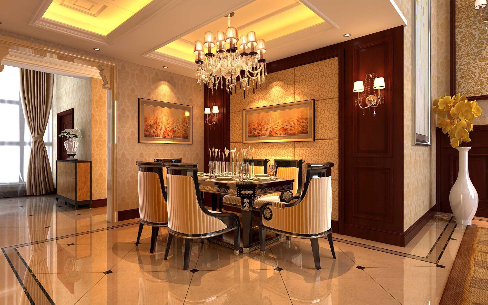 欧式 别墅 80后 白领 餐厅图片来自今朝李小慢在运河城--欧式奢华的分享