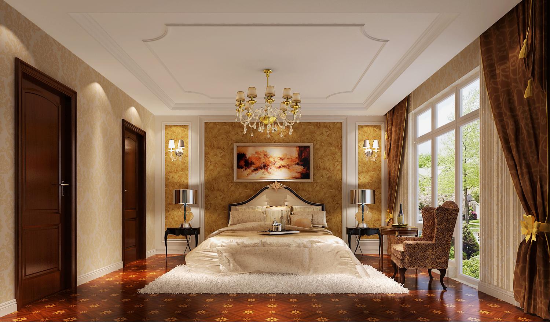 欧式 别墅 白领 80后 小资 卧室图片来自沙漠雪雨在潮白河孔雀城250平简欧风格别墅的分享