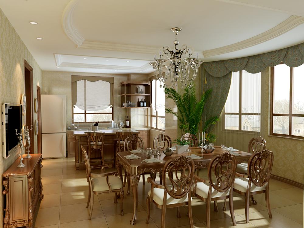 田园 别墅 白领 别墅装修 装修设计 装修风格 美式乡村 餐厅图片来自尚层别墅设计在西山林语  美式乡村风格的分享
