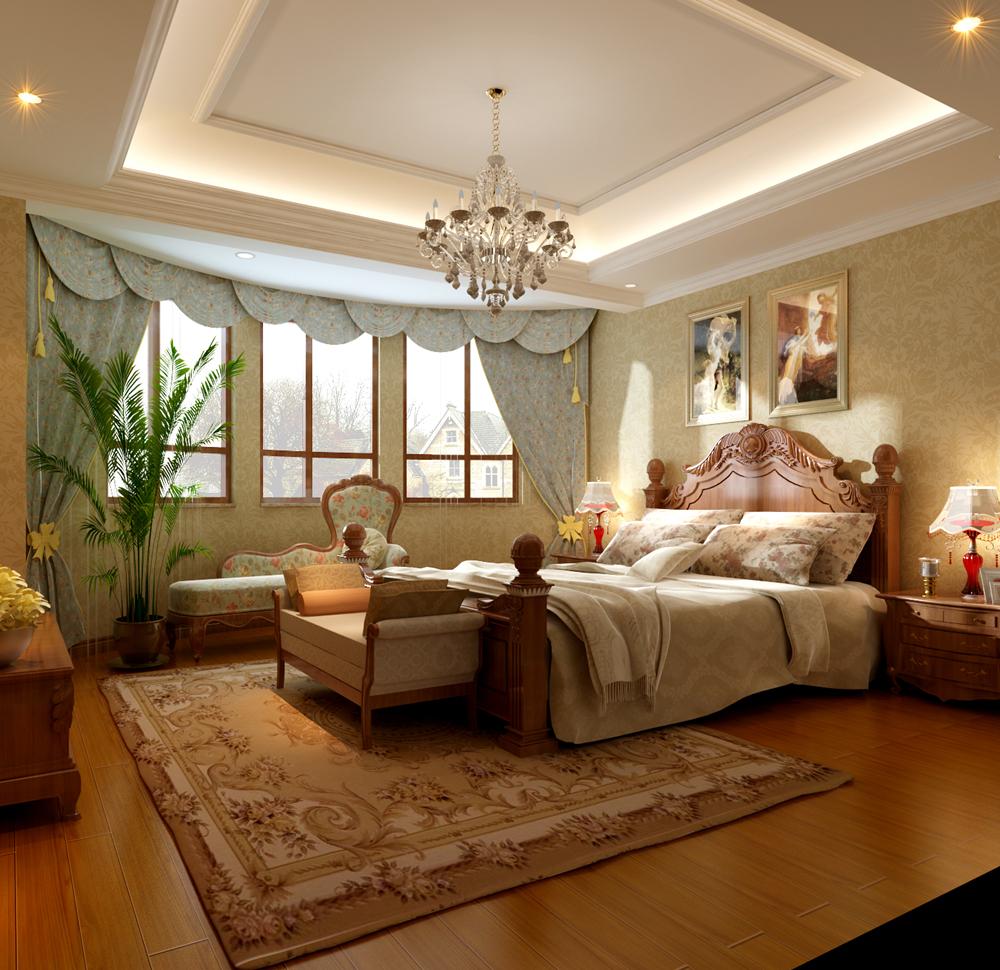 田园 别墅 白领 别墅装修 装修设计 装修风格 美式乡村 卧室图片来自尚层别墅设计在西山林语  美式乡村风格的分享