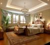 西山林语别墅装修美式乡村风格设计案例