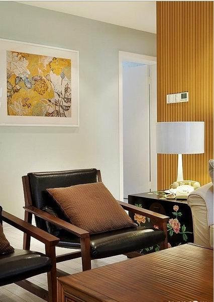 三居 简约 客厅图片来自成都金煌装饰在韵味清新时尚又不缺温馨的家的分享
