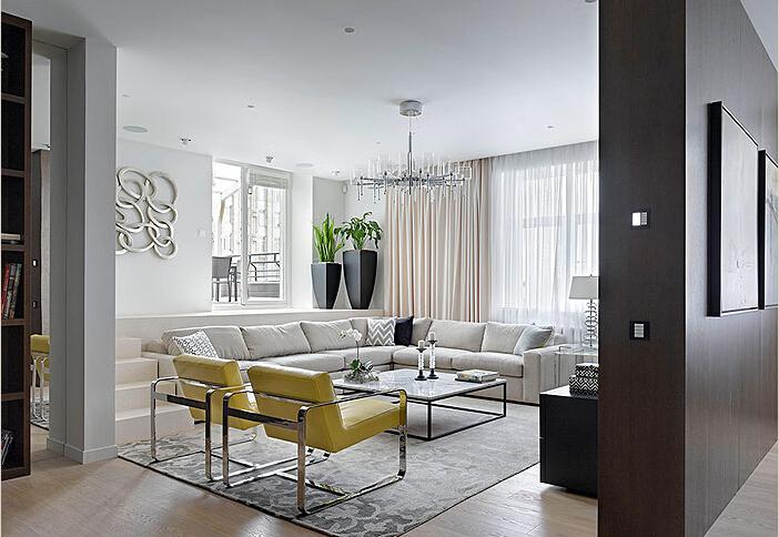 简约 欧式 田园 混搭 二居 三居 白领 收纳 旧房改造 客厅图片来自上海倾雅装饰有限公司在美式优雅三居室的分享